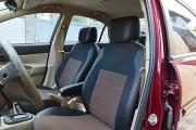 Фото 2 - Чехлы MW Brothers Hyundai Accent Verna (2005-2010), красная нить