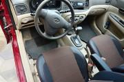 Фото 3 - Чехлы MW Brothers Hyundai Accent Verna (2005-2010), красная нить