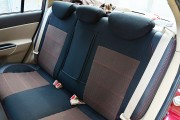 Фото 4 - Чехлы MW Brothers Hyundai Accent Verna (2005-2010), красная нить