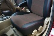 Фото 5 - Чехлы MW Brothers Hyundai Accent Verna (2005-2010), красная нить
