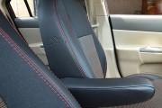 Фото 7 - Чехлы MW Brothers Hyundai Accent Verna (2005-2010), красная нить