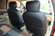 Фото 8 - Чехлы MW Brothers Hyundai Accent Verna (2005-2010), красная нить