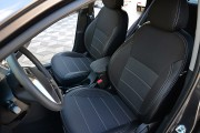 Фото 5 - Чехлы MW Brothers KIA Rio III sedan (2011-2017), серая нить