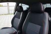Фото 5 - Чехлы MW Brothers Chevrolet Aveo T255 3D (2008-2012), красная нить