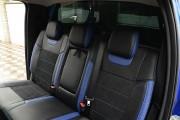 Фото 6 - Чехлы MW Brothers Ford Ranger III (2011-2015), синие вставки + синяя нить