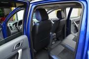 Фото 7 - Чехлы MW Brothers Ford Ranger III (2011-2015), синие вставки + синяя нить