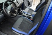 Фото 4 - Чехлы MW Brothers Ford Ranger III (2015-н.д.), синие вставки + синяя нить
