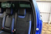 Фото 5 - Чехлы MW Brothers Ford Ranger III (2015-н.д.), синие вставки + синяя нить