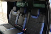 Фото 6 - Чехлы MW Brothers Ford Ranger III (2015-н.д.), синие вставки + синяя нить