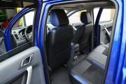 Фото 7 - Чехлы MW Brothers Ford Ranger III (2015-н.д.), синие вставки + синяя нить