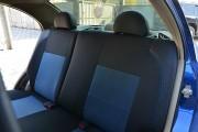 Фото 3 - Чехлы MW Brothers ZAZ Vida sedan (2012-н.д.), синяя нить