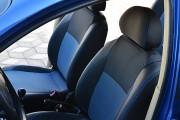 Фото 8 - Чехлы MW Brothers ZAZ Vida sedan (2012-н.д.), синяя нить