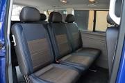 Фото 3 - Чехлы MW Brothers Volkswagen T5 Caravelle (2000-2010) пассажир (9 мест), серая нить