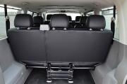 Фото 7 - Чехлы MW Brothers Volkswagen T5 Caravelle (2000-2010) пассажир (9 мест), серая нить