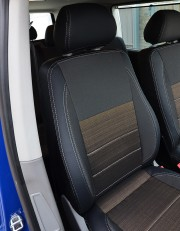 MW Brothers Volkswagen T5 Caravelle рестайлинг (2010-2015) пассажир (9 мест), серая нить
