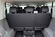 Фото 7 - Чехлы MW Brothers Volkswagen T5 Caravelle рестайлинг (2010-2015) пассажир (9 мест), серая нить