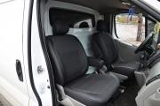Фото 2 - Чехлы MW Brothers Opel Vivaro I (2001-2014) грузовой (1+1), серая нить