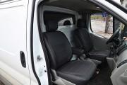 Фото 3 - Чехлы MW Brothers Opel Vivaro I (2001-2014) грузовой (1+1), серая нить