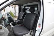 Фото 6 - Чехлы MW Brothers Opel Vivaro I (2001-2014) грузовой (1+1), серая нить