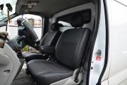 Фото 7 - Чехлы MW Brothers Opel Vivaro I (2001-2014) грузовой (1+1), серая нить