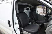 Фото 4 - Чехлы MW Brothers Nissan Primastar (2001-2014) грузовой (1+1), серая нить