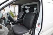 Фото 6 - Чехлы MW Brothers Nissan Primastar (2001-2014) грузовой (1+1), серая нить
