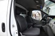Фото 7 - Чехлы MW Brothers Nissan Primastar (2001-2014) грузовой (1+1), серая нить