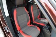 Фото 7 - Чехлы MW Brothers Fiat Doblo II (2010-2014), красные вставки + красная нить
