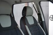 Фото 7 - Чехлы MW Brothers Fiat Punto Classic (2007-2011), светлые вставки + оранж. нить