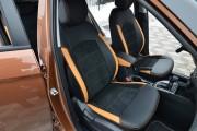 "'ото 5 - ""ехлы MW Brothers Hyundai Creta (2014-н.д.), оранж вставки + оранж нить"