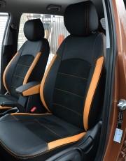 MW Brothers Hyundai Creta (2014-н.д.), оранж вставки + оранж нить