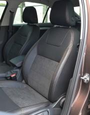 MW Brothers Skoda Octavia A7 Ambition, Elegance (2013-2016), коричневая нить