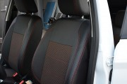 Фото 6 - Чехлы MW Brothers Ford Fiesta MK7 (2009-н.д.), красная нить