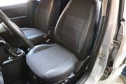 Фото 4 - Чехлы MW Brothers Ford Fusion (2002-2012), серая нить