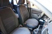 Фото 5 - Чехлы MW Brothers Ford Fusion (2002-2012), серая нить