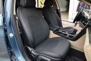 фото 2 - Чехлы MW Brothers Hyundai Sonata (LF) (2014-2019), серая нить