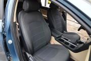 фото 4 - Чехлы MW Brothers Hyundai Sonata (LF) (2014-2019), серая нить