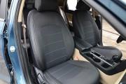 фото 8 - Чехлы MW Brothers Hyundai Sonata (LF) (2014-2019), серая нить