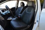 Фото 2 - Чехлы MW Brothers Nissan Sentra (B17) (2013-н.д.), серая нить