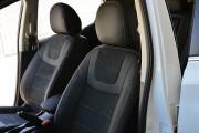 Фото 3 - Чехлы MW Brothers Nissan Sentra (B17) (2013-н.д.), серая нить