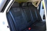 Фото 6 - Чехлы MW Brothers Nissan Sentra (B17) (2013-н.д.), серая нить
