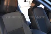 Фото 4 - Чехлы MW Brothers Toyota Camry XV70 (2017-н.д.), коричневая нить