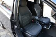 Фото 3 - Чехлы MW Brothers Fiat 500 (2007-н.д.), серая нить