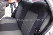 Фото 5 - Чехлы MW Brothers Renault Logan II (2012-2014), серая нить