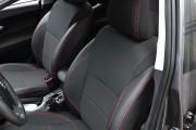 Фото 3 - Чехлы MW Brothers Toyota Auris I (2006-2012), красная нить