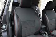 Фото 6 - Чехлы MW Brothers Toyota Auris I (2006-2012), красная нить