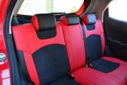 Фото 4 - Чехлы MW Brothers Mazda 2 (2007-2014), черно-красные + красная нить