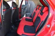 Фото 5 - Чехлы MW Brothers Mazda 2 (2007-2014), черно-красные + красная нить