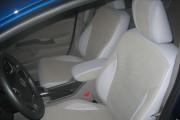 Фото 4 - Чехлы MW Brothers Honda Civic 9 4D (2011-2016), полностью бежевые