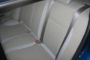 Фото 6 - Чехлы MW Brothers Honda Civic 9 4D (2011-2016), полностью бежевые